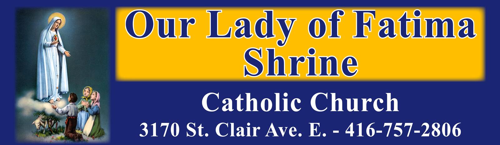 Catholic Church Sign